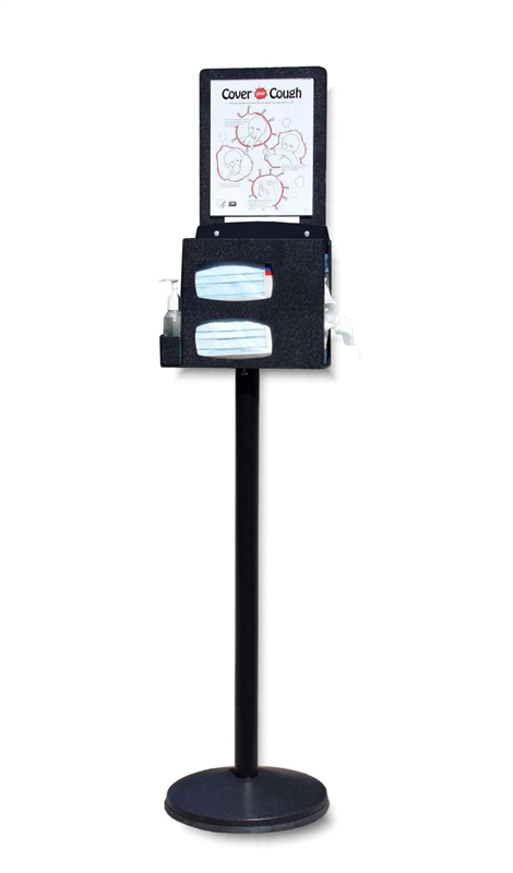 Compact Respiratory Hygiene Stand