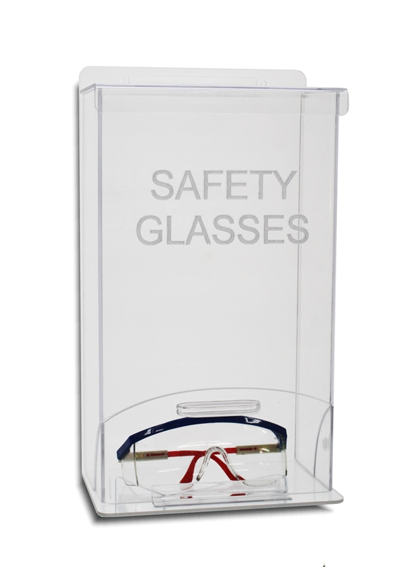 10 Safety Glasses Dispenser